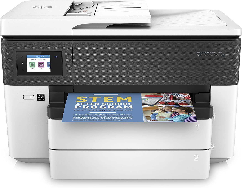 imprimante Officejet Pro A3 7730 de HP