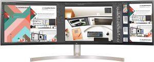 Écran PC incurvé LG UltraWide 49WL95C-W