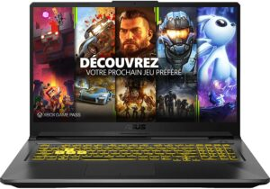 PC Gamer portable ASUS TUF A17-TUF766II-H7014T
