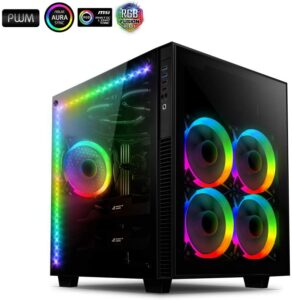 boitier pc rgb Anidees